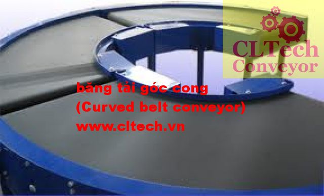 Curve belt conveyor 01